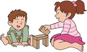 imagen de niños jugando