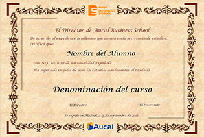 Certificado Aucal