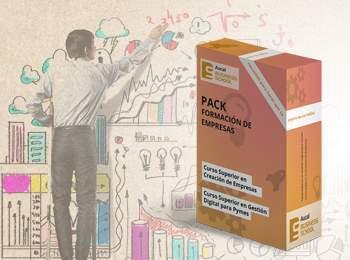 Un pack que te ayudará a emprender  | Aucal Business School