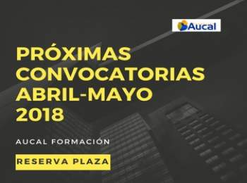 Importantes Convocatorias en Aucal para abril y mayo 2018