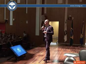 INISEG interviene en el 1º CONGRESO INTERNACIONAL DE CIENCIAS POLICIALES BRASIL | Iniseg