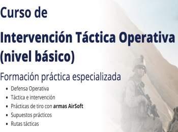 Culmina con éxito Curso de Intervención Táctica nivel básico en Barcelona | Iniseg