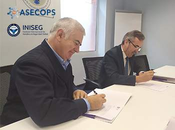 INISEG Y ASECOPS unen sus fuerzas para garantizar la formación en la Seguridad Privada | Iniseg