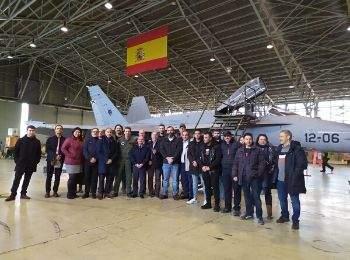 Base Aérea Torrejón: alumnos de INISEG conocen en detalle la historia de las fuerzas aéreas españolas | Iniseg