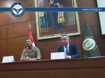 INISEG cierra nuevo acuerdo de colaboración con la comandancia General del Ejército de Perú | Iniseg