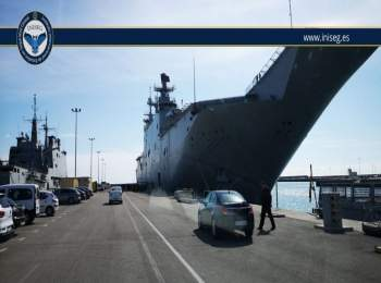 Historia, orgullo y sorpresas se vivieron en visita a la Base Naval de Rota organizada por INISEG | Iniseg